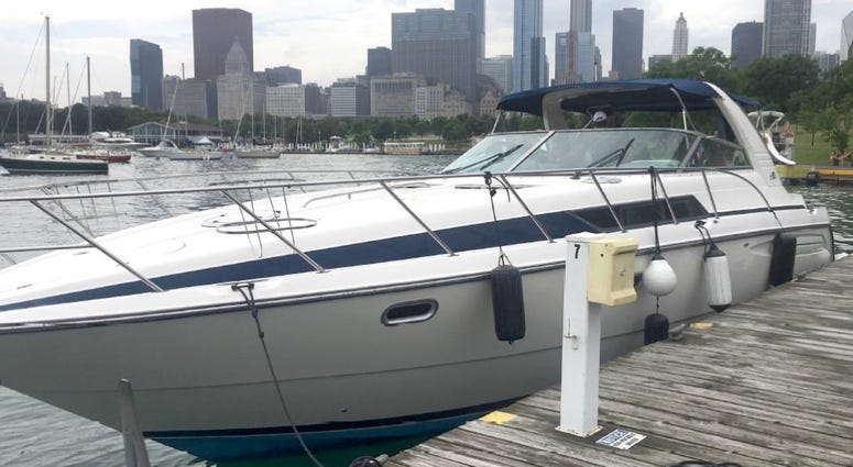 Christopher Garbowski allegedly used this boat to run an illegal charter operation.