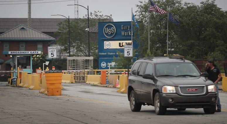 US Steel Works Gary Ind