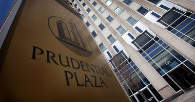 A sign marks the location of One Prudential Plaza at 130 East Randolph Street on March 28, 2011 in Chicago, Illinois.