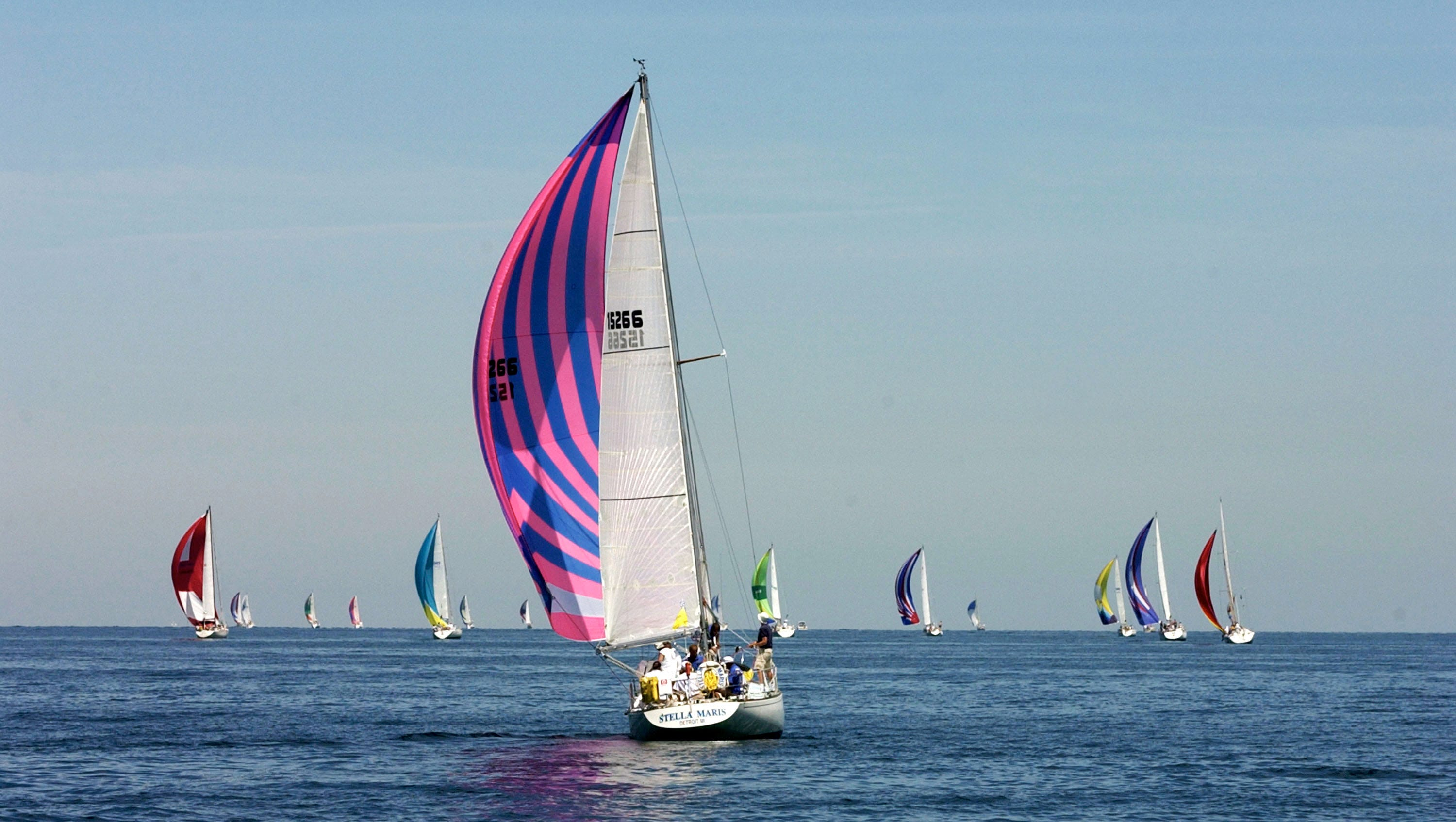 The Chicago Yacht Club's 111th Race To Mackinac Set Sails   WBBM-AM