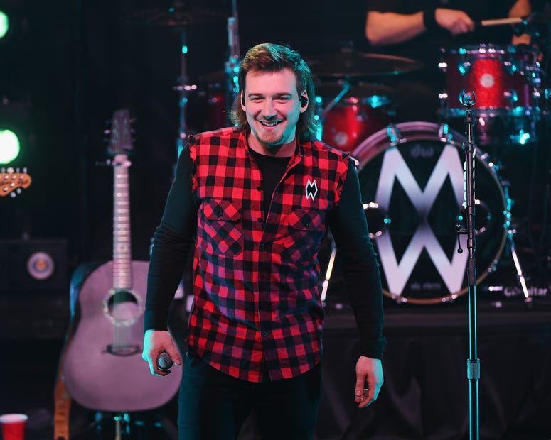 Morgan Wallen performs at Irving Plaza on February 21, 2019 in New York City.