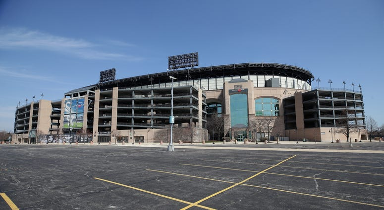 Guaranteed Rate Field No Opening Day