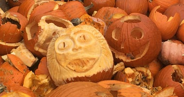 Pumpkin Smash recycling program