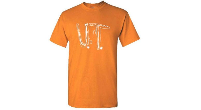 U Of Tennessee Sells Design Of Bullied Boy's Homemade Shirt