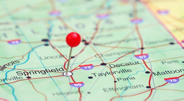 Illinois Downstate Map
