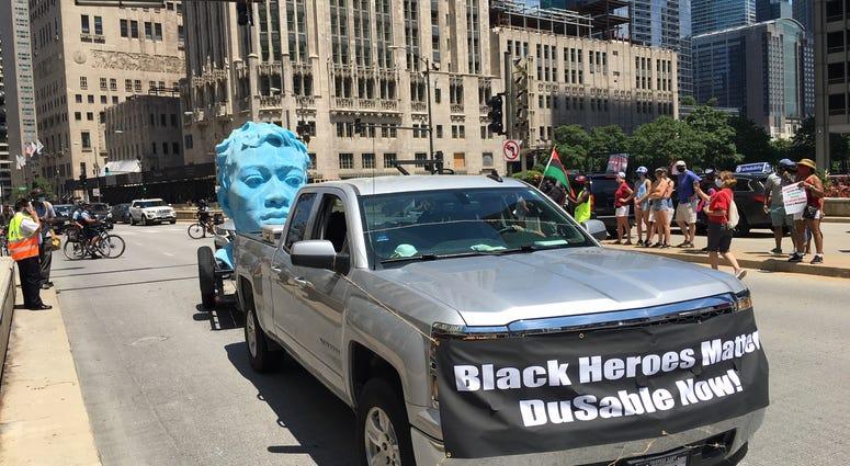 du Sable truck march