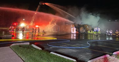 Don's Hot Dogs in Orland Park was destroyed by a fire July 28, 2020.