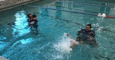 Baby Otter Dawson/Payton Swim School Opens Downtown