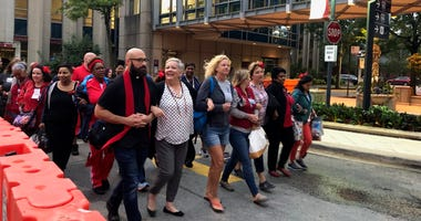University of Chicago nurses went back to work this morning following a strike over staffing levels.