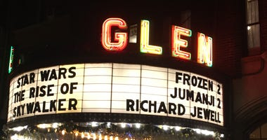 """And whilemany fans flocked to giant movie theaters and waited in lineto be among the first to see """"The Rise of Skywalker"""", a few dozen fans chose to go to the Glen Art Theatre in Glen Ellyn for a more intimate viewing experience."""