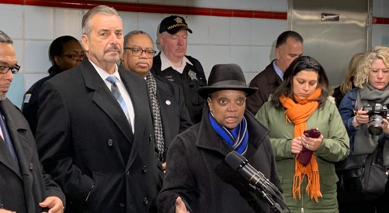 Mayor Unveils New Anti-Crime Measures For CTA System