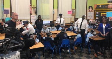 The Chicago Fire Department has unveiled a unique virtual reality-based fire safety training program for kids.