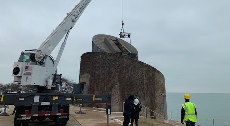 Adler Planetarium welcomes new telescope