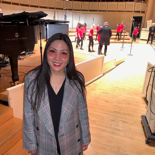 Josephine Lee, President, Artistic Director of Chicago Children's Choir