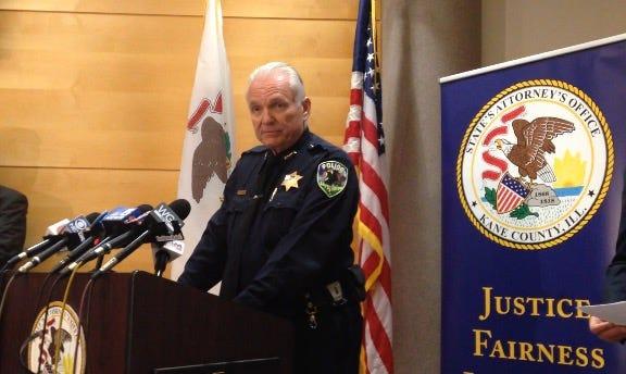 Sleepy Hollow Police Chief James Linane