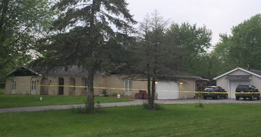A man was found dead in the trunk of a vehicle Monday in his Crete Township home after an apparent robbery in the far south suburbs.