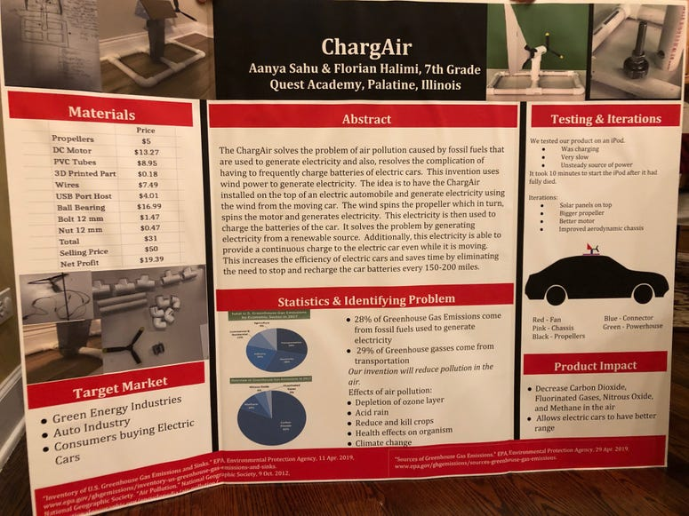 ChargeAir, Invention Convention