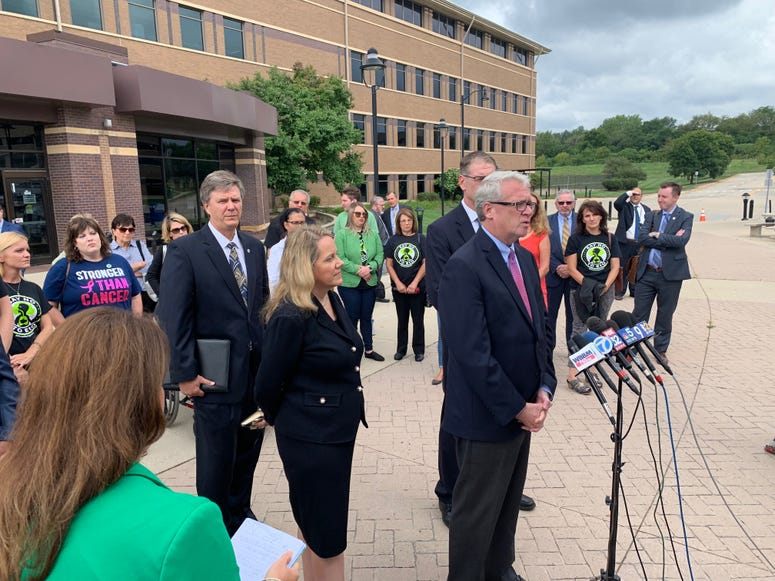 State Rep. Jim Durkin, one of the legislators behind the Matt Haller Act which was passed and signed into law this summer tightening restrictions on emissions of ethylene oxide, promises.