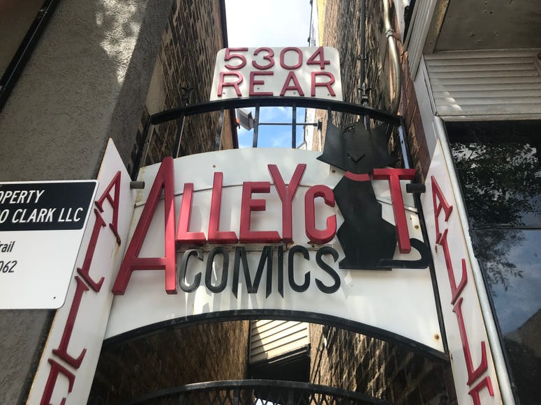 AlleyCat Comics