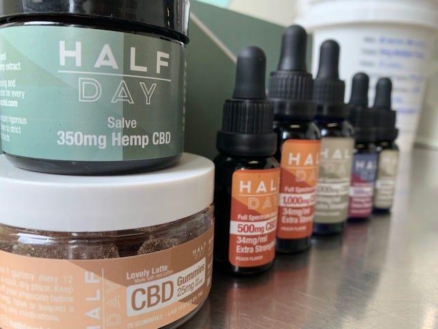 Half Day CBD products
