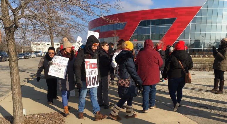 Acero teachers strike