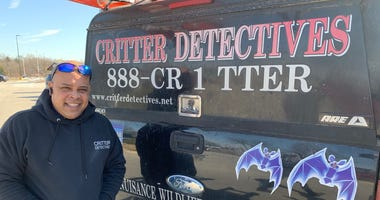 Lou Ocasio, owner of Critter Detectives