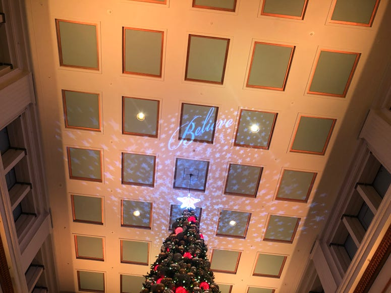 The Great Tree at the Walnut Room at Macy's on State Street