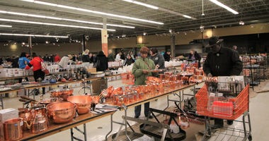 Each year, for the past 15 years, when the Housewares Show is over, the Sertoma Centre is one of a handful of charities that gets to solicit donations of wares from vendors.