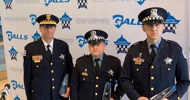 Officers Bernardo Quijano, Jacob Alderden and Elvis Turcinovic