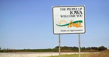 Iowa Sign