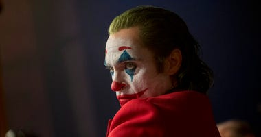"his image released by Warner Bros. Pictures shows Joaquin Phoenix in a scene from ""Joker,"" in theaters on Oct. 4."