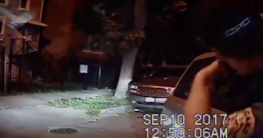 A Chicago police officer opens fire after a driver pinned him against his SUV during a September encounter on the Northwest Side.