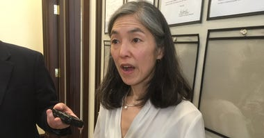 Health Commissioner Julie Morita talks about lead found in drinking water