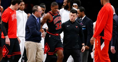 Kris Dunn Injury Bulls Knicks