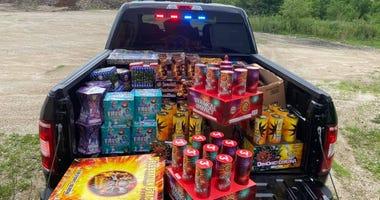 Kane County Fireworks Seizure