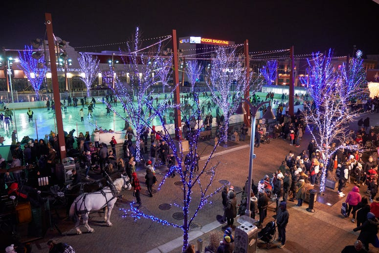 Light Up the Park at Rosemont's Parkway Bank Park