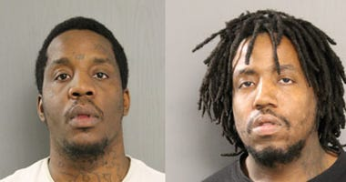 2 charged with fleeing traffic stop, striking Chicago police officer in Longwood Manor