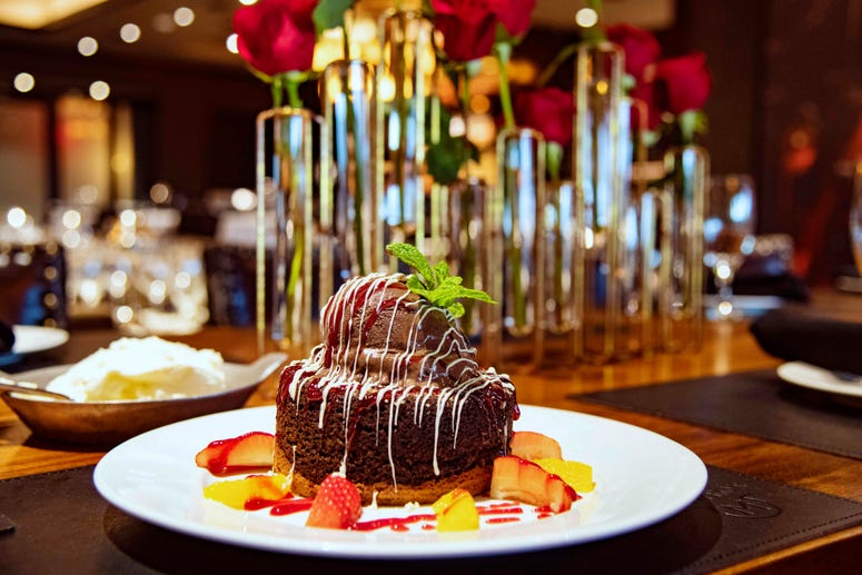 Mastro's Chocolate Butter Cake