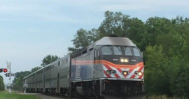 Metra Rail Car