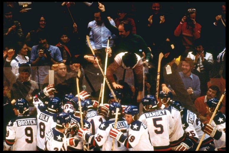 Miracle On Ice USA V Russia