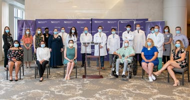 The Northwestern Medicine Lung Transplant Program proudly introduced Thursday the first known patients in the United States who received double-lung transplants due to COVID-19.