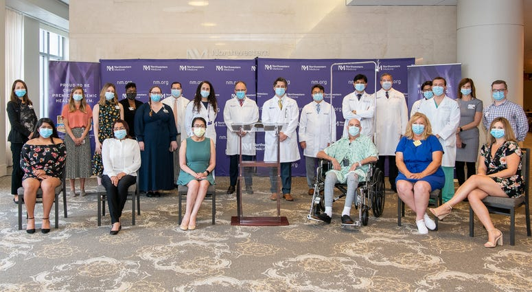 The Northwestern Medicine Lung Transplant Program proudlyintroduced Thursday the first known patients in the United States who received double-lung transplants due to COVID-19.