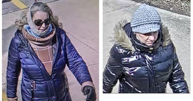 Naperville police are seeking to identify two women in connection with an attack on a jogger March 21, 2020, near 75th and Washington streets.