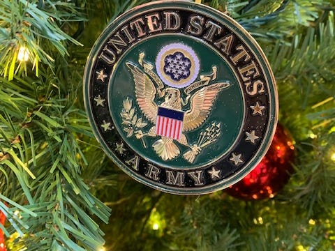 Gold Star Ornament