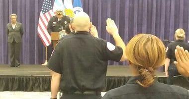 Paramedics Graduation CFD