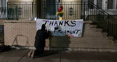 Blagojevich House Thank You Banner
