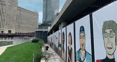River Walk Art Installation