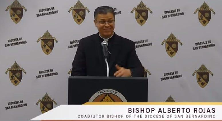 Bishop Alberto Rojas