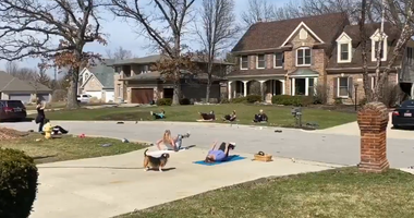 West Chicago Stay At Home Workout