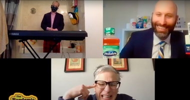pandemic talk show